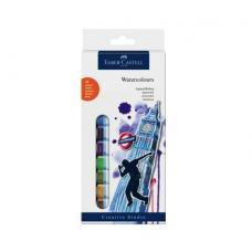 Faber Castell Tüp Sulu Boya 12 Renk