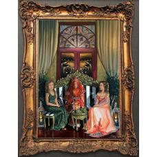 Tuval Üzerine Yağlı Boya (Henna Collection3)
